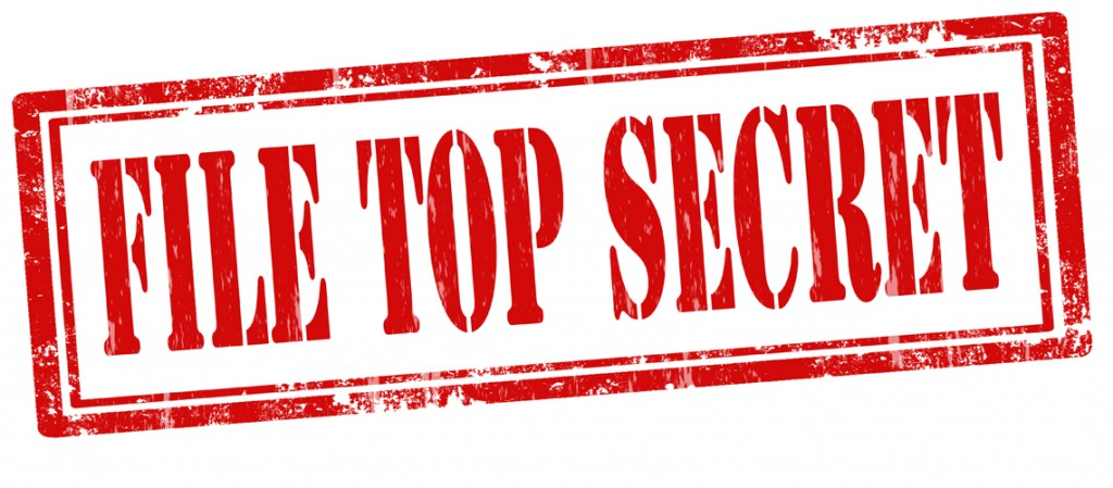 File Top Secret-stamp
