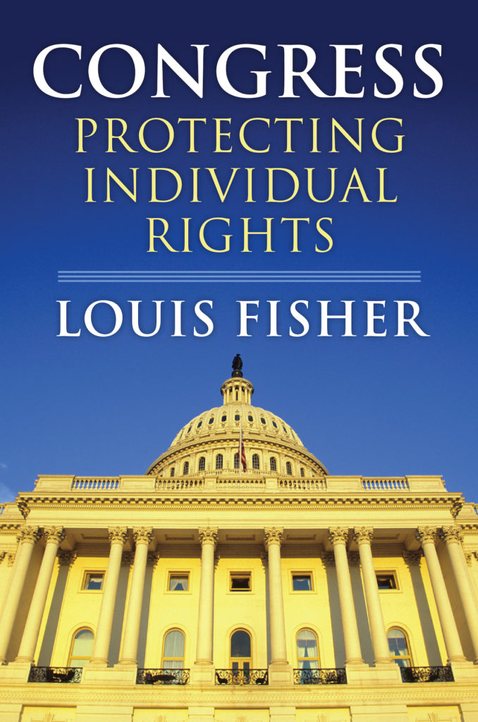 louis-fisher-congress-protecting-indvidual-rights