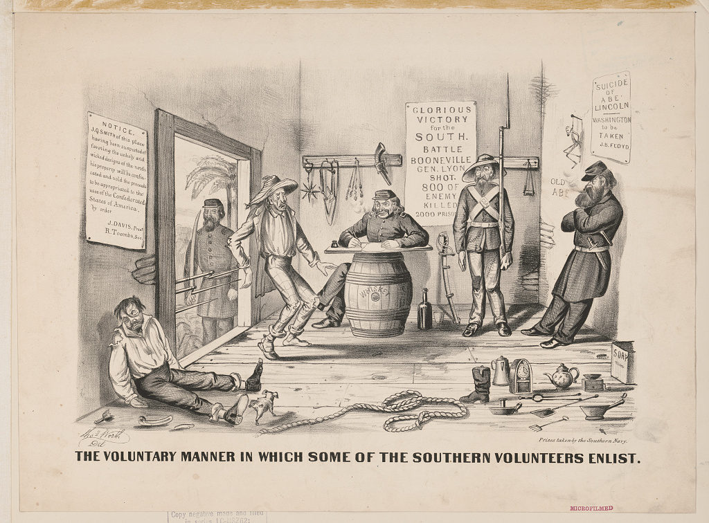 The military and whiskey's 250-year history