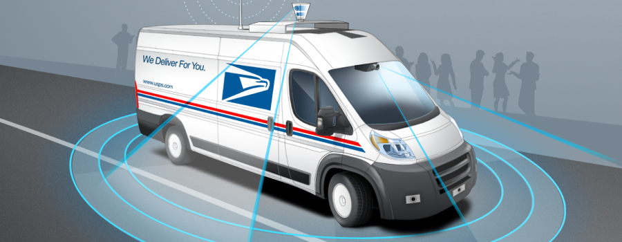 Who's afraid of autonomous mail trucks?