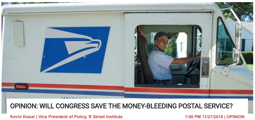 Will Congress save the money-bleeding Postal Service