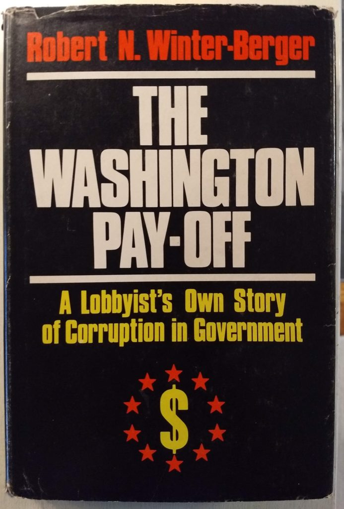 A Book You Cannot Trust: Robert N. Winter-Berger's The Washington Pay-Off