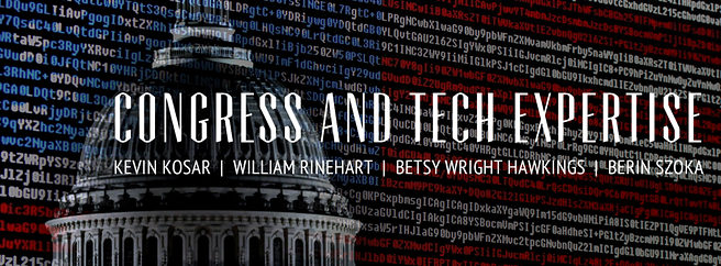 Congress' tech policy knowledge gap