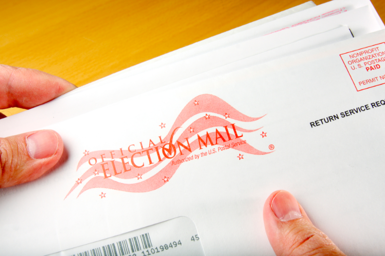 Republican pollsters find 76% of voters want the freedom to vote by mail